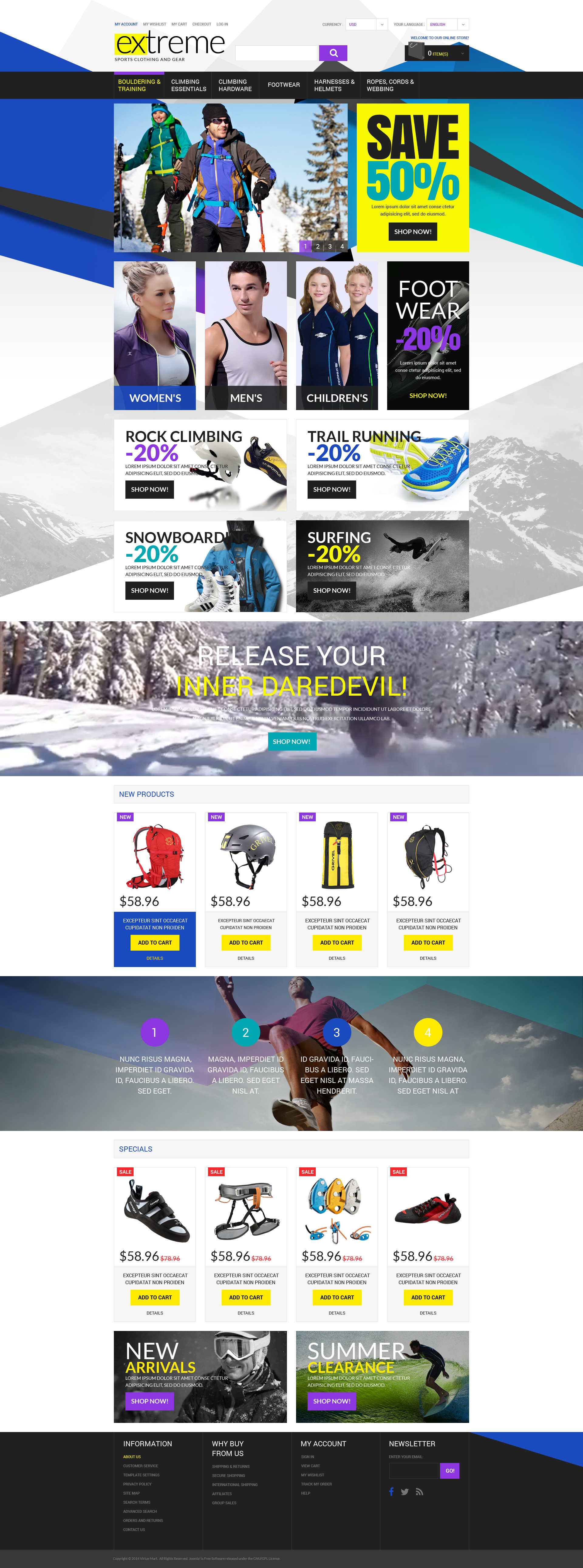 The Extreme Sport Online Shop Magento Design 53046, one of the best Magento themes of its kind (sport, most popular), also known as extreme sport online shop Magento template, fashion Magento template, pant Magento template, sweatshirt Magento template, belt Magento template, accessory Magento template, denim Magento template, outwear Magento template, pajama Magento template, robe Magento template, sweater Magento template, suit Magento template, short Magento template, underwear Magento template, kids Magento template, children Magento template, socks Magento template, wallet Magento template, t-shirt Magento template, jeans Magento template, jacket Magento template, pullover Magento template, swimsuit Magento template, thong Magento template, coverall Magento template, bag Magento template, shoes Magento template, dress Magento template, tie Magento template, brassier Magento template, prices Magento template, eye Magento template, wear Magento template, perfumes Magento template, footwear and related with extreme sport online shop, fashion, pant, sweatshirt, belt, accessory, denim, outwear, pajama, robe, sweater, suit, short, underwear, kids, children, socks, wallet, t-shirt, jeans, jacket, pullover, swimsuit, thong, coverall, bag, shoes, dress, tie, brassier, prices, eye, wear, perfumes, footwear, etc.