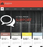 Web Hosting Moto CMS HTML  Template 53051