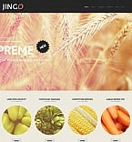 Agriculture Moto CMS HTML  Template 53053