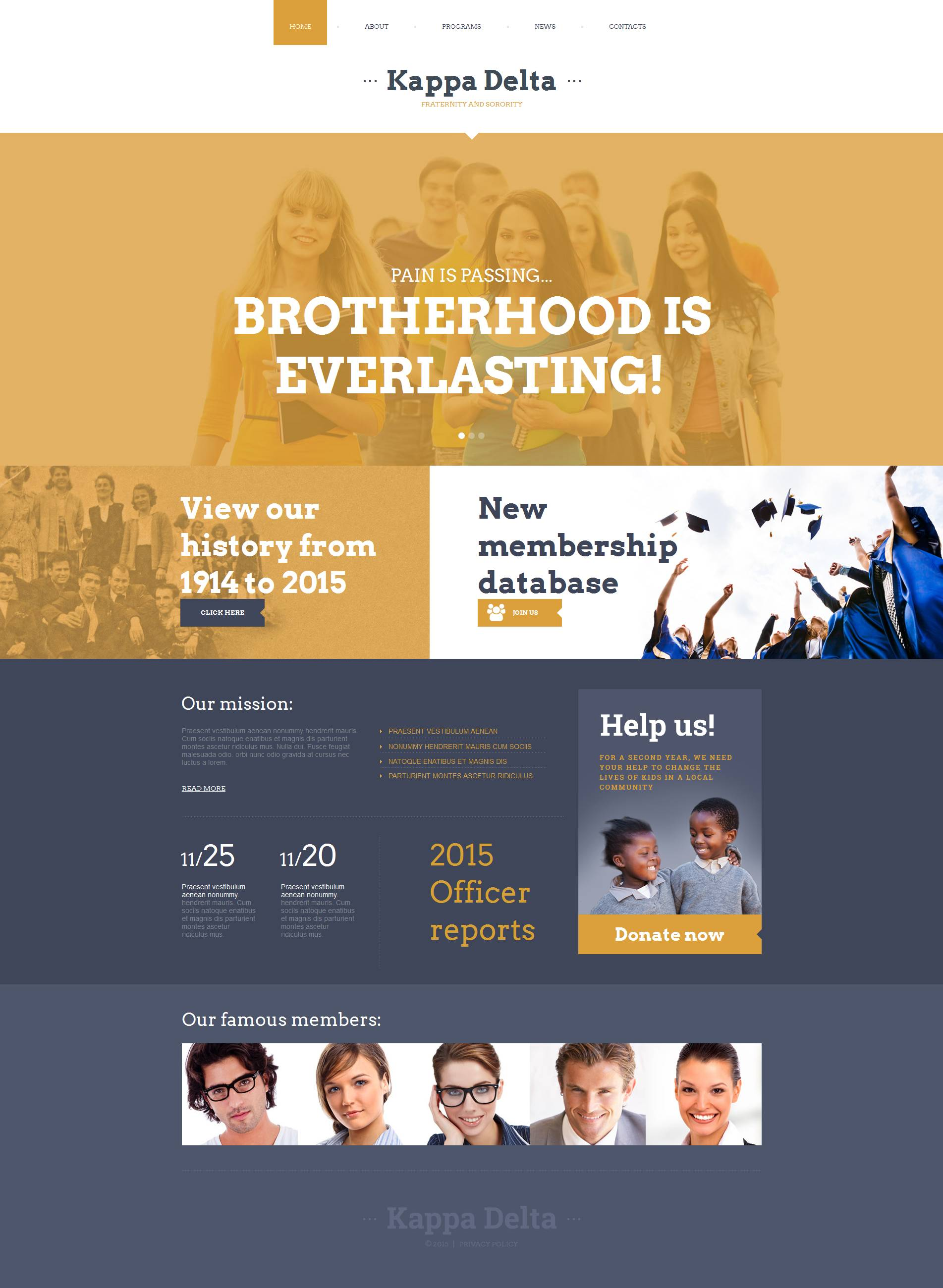 The Kappa Delta Moto CMS HTML Design 53057, one of the best Moto CMS HTML templates of its kind (education), also known as kappa delta Moto CMS HTML template, sorority Moto CMS HTML template, university Moto CMS HTML template, sisters Moto CMS HTML template, friends Moto CMS HTML template, friendship Moto CMS HTML template, youth Moto CMS HTML template, membership Moto CMS HTML template, committee Moto CMS HTML template, girls and related with kappa delta, sorority, university, sisters, friends, friendship, youth, membership, committee, girls, etc.