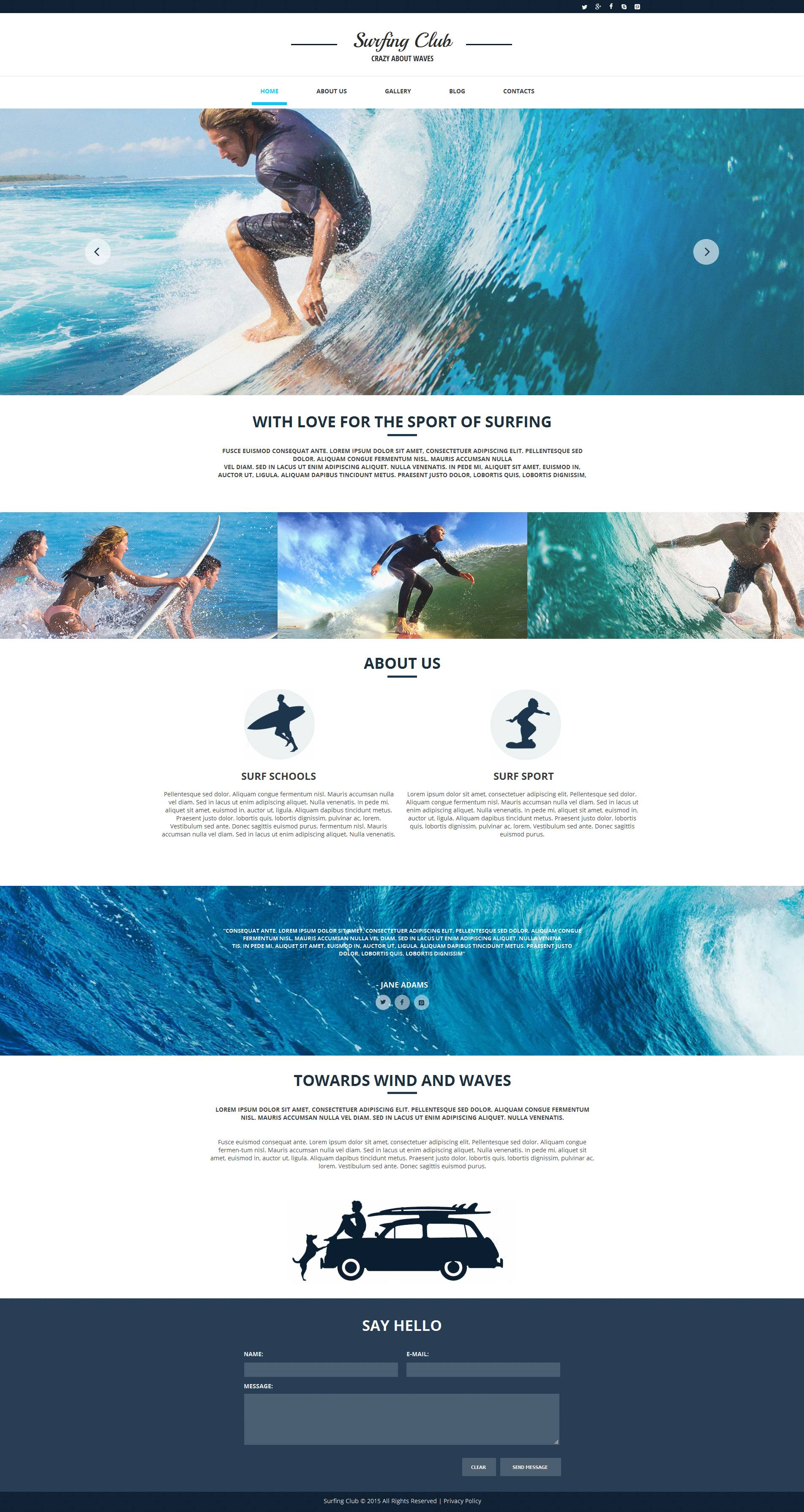 The Surfing Club Moto CMS HTML Design 53058, one of the best Moto CMS HTML templates of its kind (sport, most popular), also known as surfing club Moto CMS HTML template, sport Moto CMS HTML template, sea Moto CMS HTML template, ocean Moto CMS HTML template, surf-riding Moto CMS HTML template, board Moto CMS HTML template, team Moto CMS HTML template, shop Moto CMS HTML template, products Moto CMS HTML template, gallery Moto CMS HTML template, surf school Moto CMS HTML template, teachers Moto CMS HTML template, programs and related with surfing club, sport, sea, ocean, surf-riding, board, team, shop, products, gallery, surf school, teachers, programs, etc.
