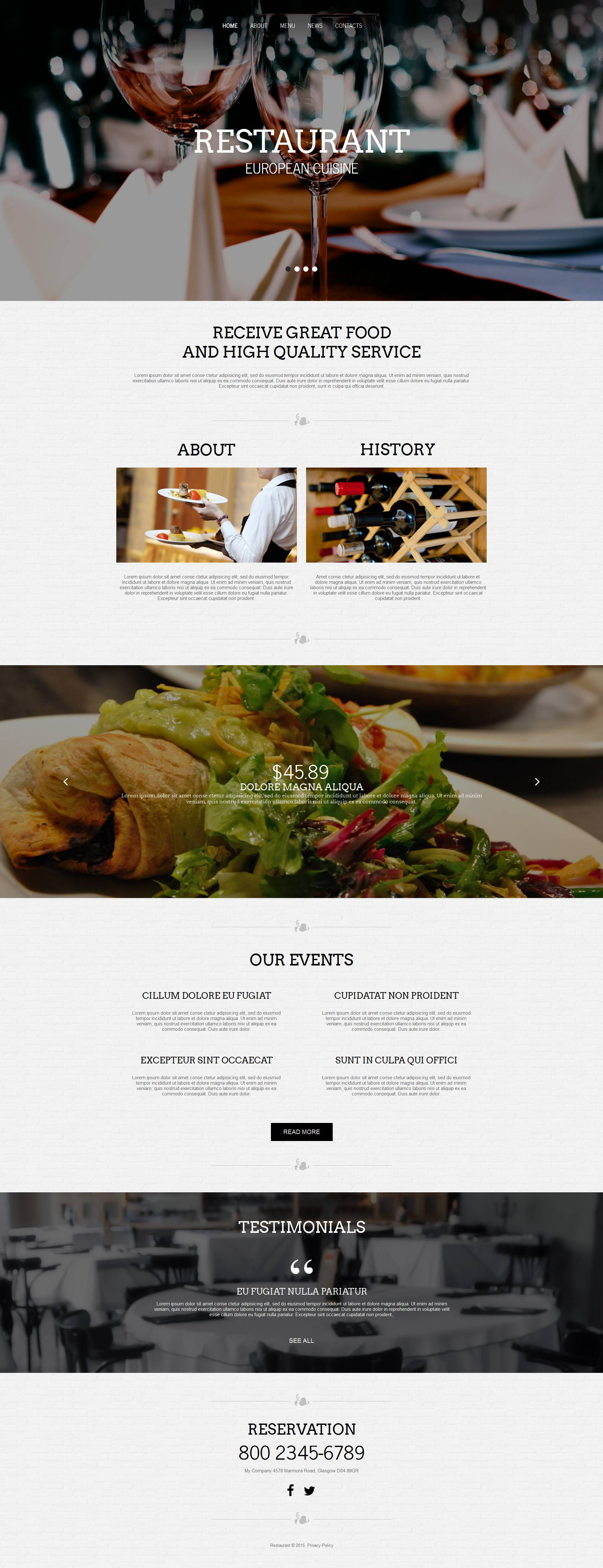 The European Restaurant Moto CMS HTML Design 53062, one of the best Moto CMS HTML templates of its kind (cafe and restaurant, most popular), also known as european restaurant Moto CMS HTML template, fish Moto CMS HTML template, marine Moto CMS HTML template, products Moto CMS HTML template, calamari Moto CMS HTML template, squid Moto CMS HTML template, oyster Moto CMS HTML template, shrimp Moto CMS HTML template, services Moto CMS HTML template, cafe Moto CMS HTML template, food Moto CMS HTML template, drink Moto CMS HTML template, menu Moto CMS HTML template, waiters Moto CMS HTML template, dish Moto CMS HTML template, taste Moto CMS HTML template, tasty Moto CMS HTML template, flavor Moto CMS HTML template, reservation and related with european restaurant, fish, marine, products, calamari, squid, oyster, shrimp, services, cafe, food, drink, menu, waiters, dish, taste, tasty, flavor, reservation, etc.