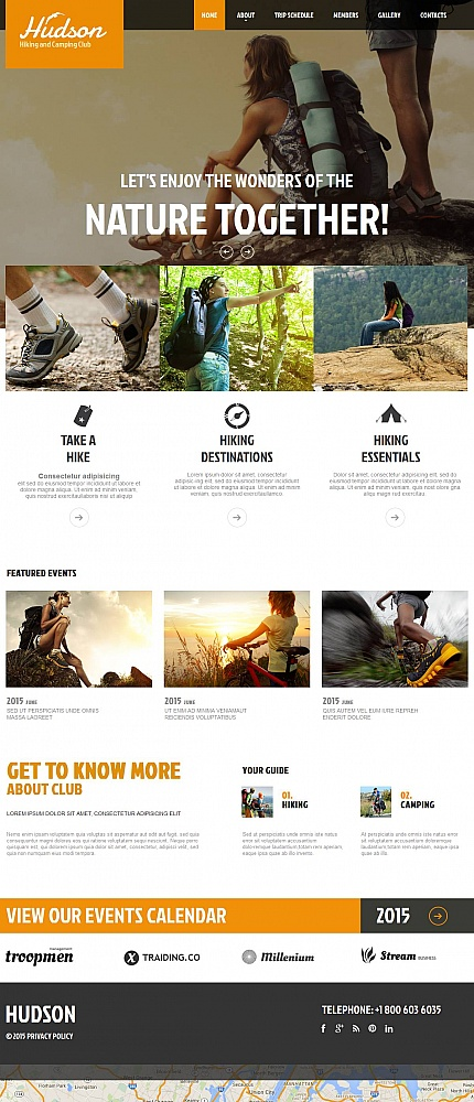 ADOBE Photoshop Template 53065 Home Page Screenshot