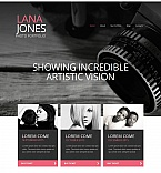 Art & Photography Photo Gallery  Template 53077