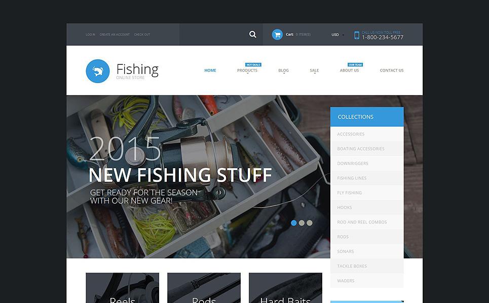 Responsive Balıkçılık  Shopify Teması New Screenshots BIG