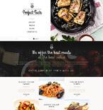 Cafe & Restaurant Joomla  Template 53087