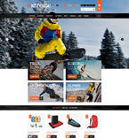 Sport PrestaShop Template 53088