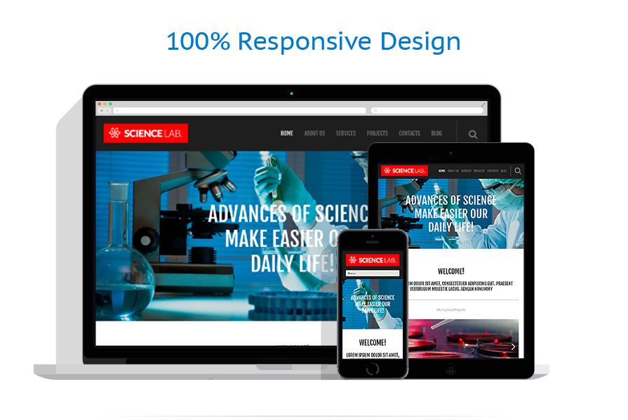 Thèmes WordPress Science #53090
