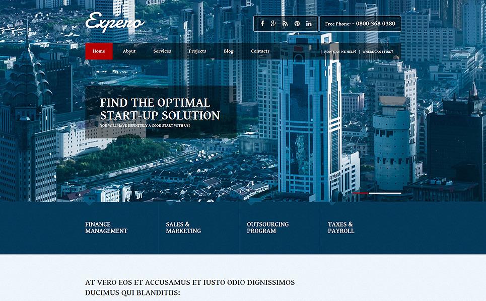 Responsive Joomla Vorlage für Business und Dienstleistungen New Screenshots BIG