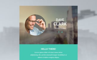 Lawyer Responsive Newsletter Template