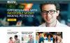 Адаптивний WordPress шаблон на тему бізнес та послуги New Screenshots BIG