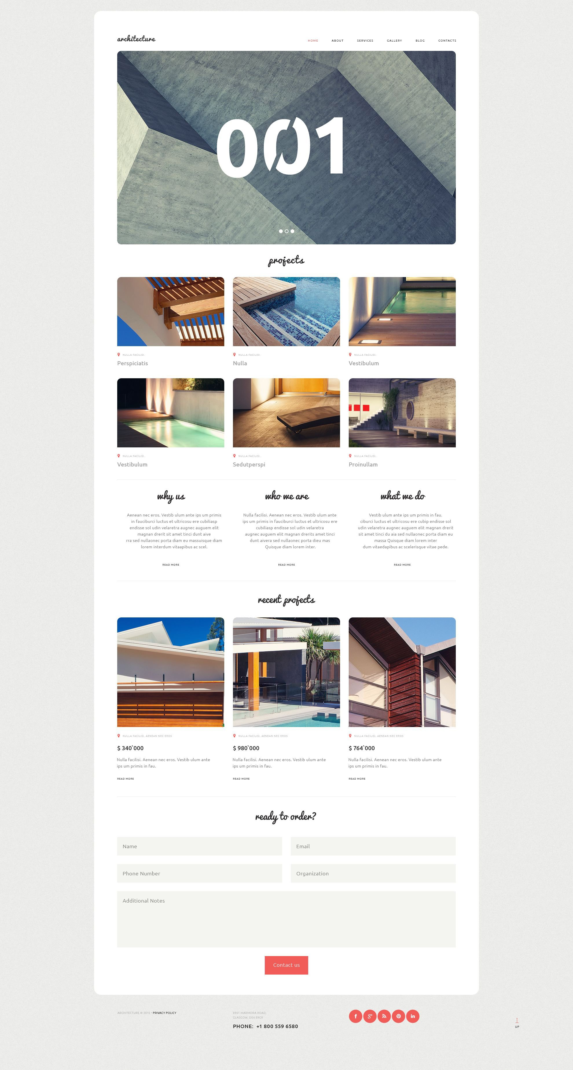 Architecture Bureau WordPress Theme - screenshot