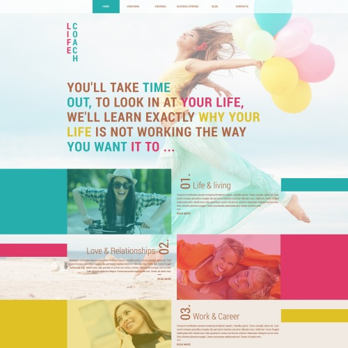 Life Coach  - Joomla! Template based on Bootstrap