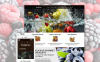 """Magasin des cadeaux de fruits"" thème OpenCart adaptatif New Screenshots BIG"