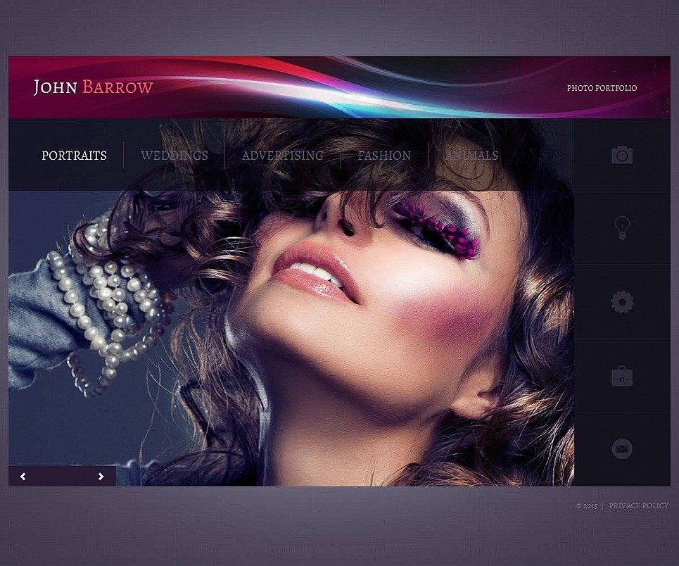 Personal Page Photo Gallery Template New Screenshots BIG