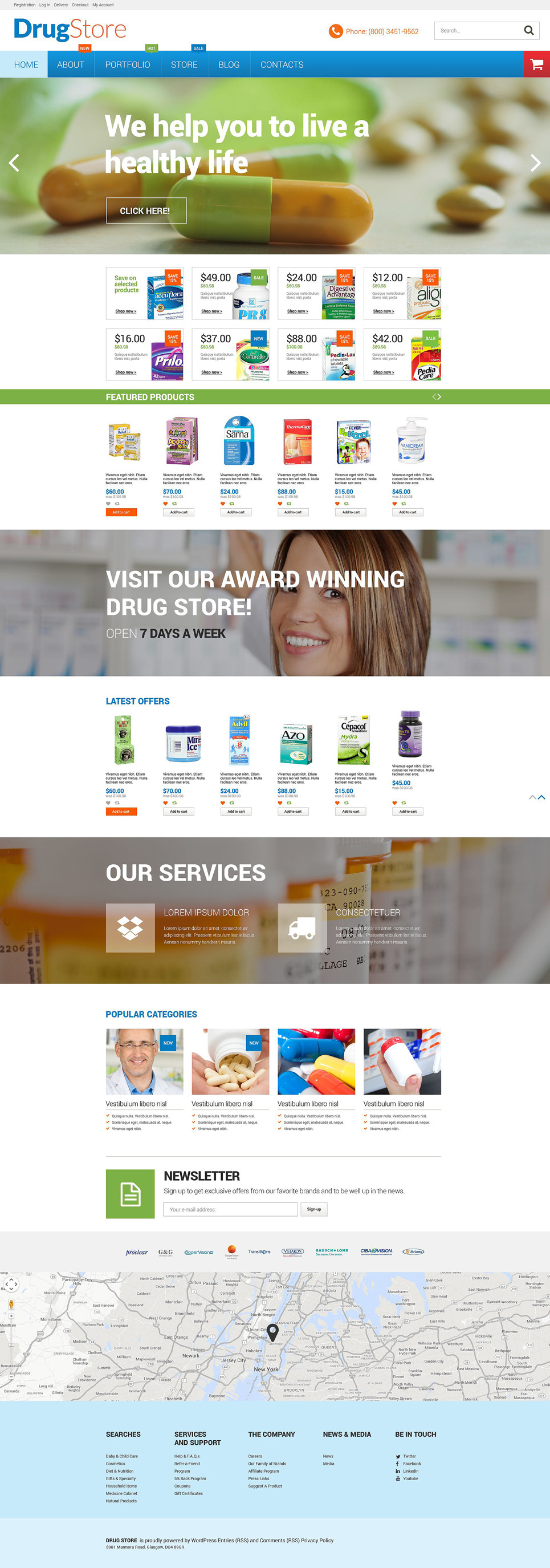 Pharmacy WooCommerce Theme New Screenshots BIG