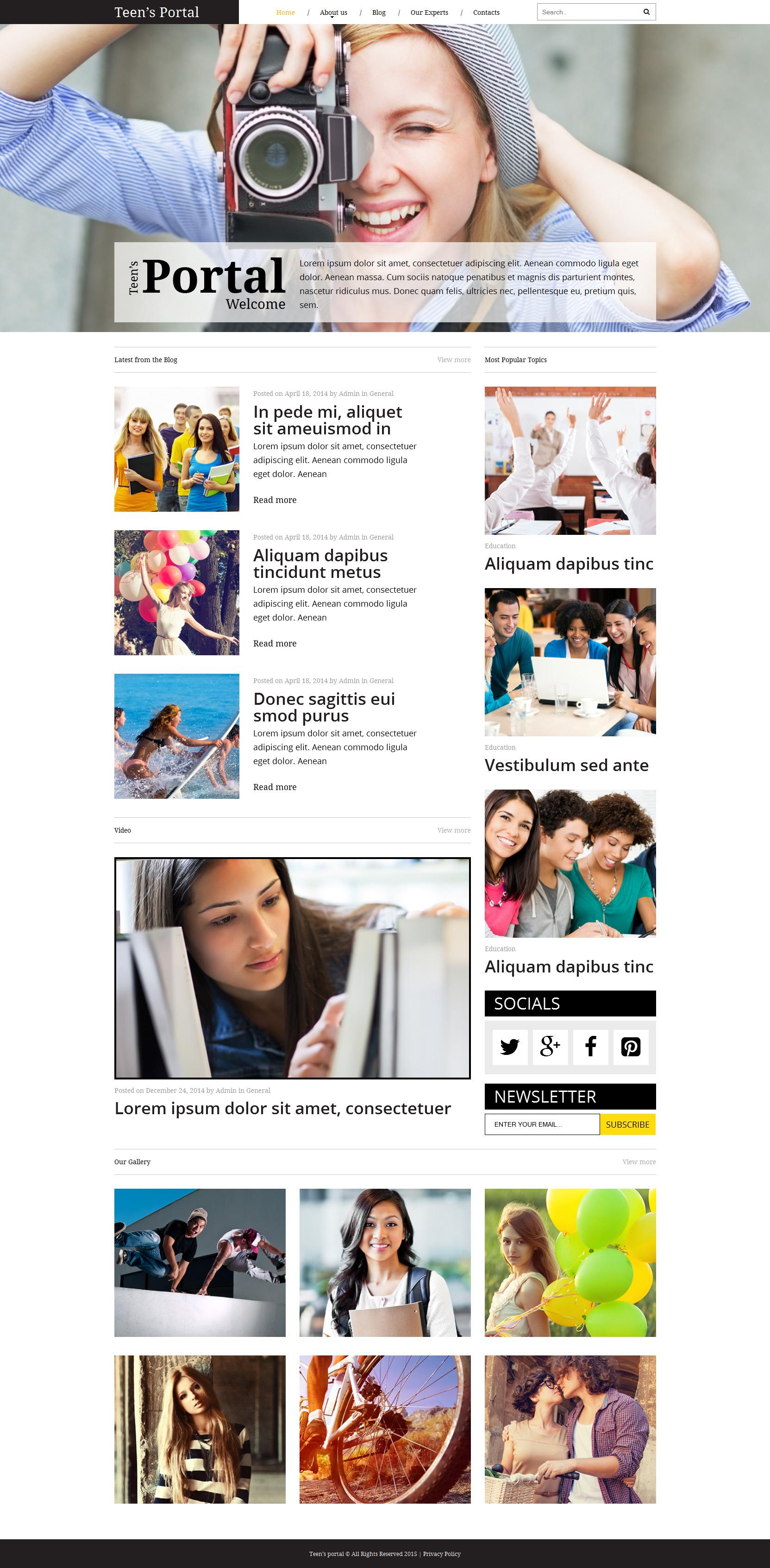 Sitios web inapropiados para adolescentes