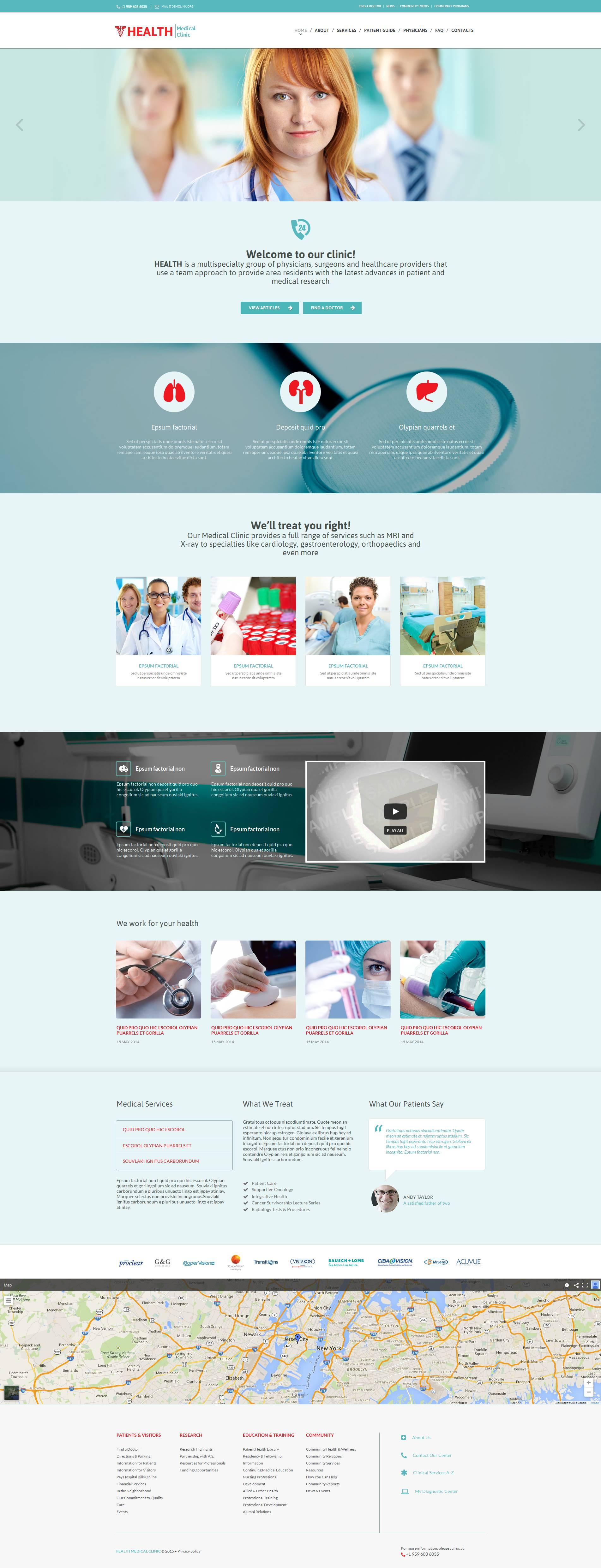 Premium Medikal lar Moto Cms Html #53052