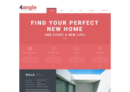 Real Estate Agency Responsive