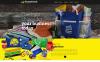 Responsive Baskı Mağazası  Web Sitesi Şablonu New Screenshots BIG