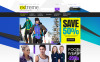 Responsive Magento Thema over Extreme sporten  New Screenshots BIG
