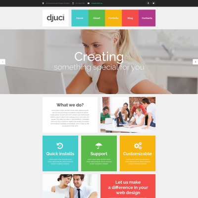 Design Studio Responsive WordPress Teması