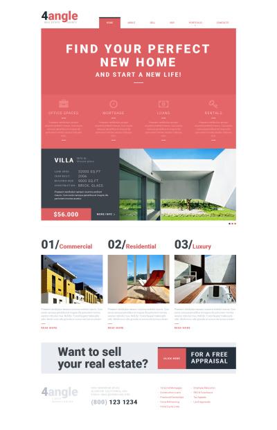 Real Estate Agency Responsive Šablona Webových Stránek