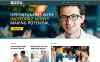"Responzivní WordPress motiv ""Business Bureau"" New Screenshots BIG"