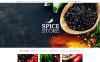 Reszponzív Spice Food Shop OpenCart sablon New Screenshots BIG
