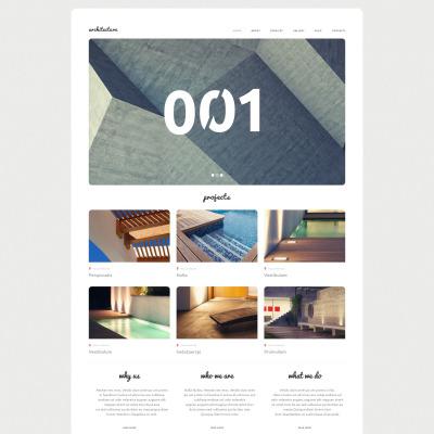 Tema de WordPress #53013 para Sitio de Arquitectura