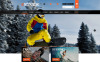 "Tema PrestaShop Responsive #53088 ""Sport Estremi"" New Screenshots BIG"