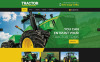 "Tema Siti Web Responsive #53043 ""Tractor Maintenance"" New Screenshots BIG"