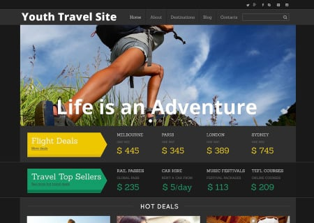 Travel Agency Responsive