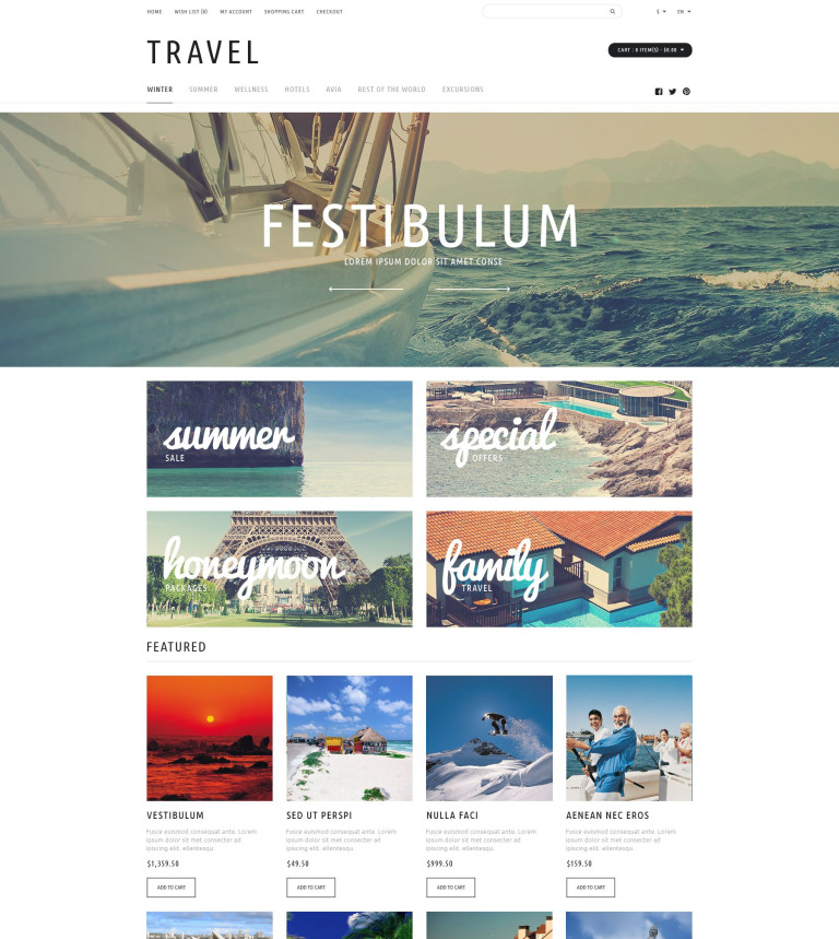 Travel tours store opencart template 53084 travel tours store opencart template new screenshots big fandeluxe Gallery