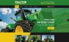 "Website Vorlage namens ""Tractor Maintenance"" New Screenshots BIG"