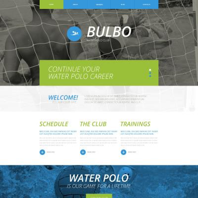 Responsive Website Vorlage für Polo