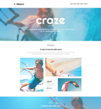 Sport Website  Template 53100