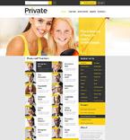 Education Website  Template 53106