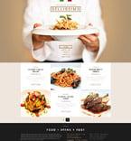 Cafe & Restaurant Joomla  Template 53111