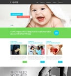 Charity Website  Template 53117