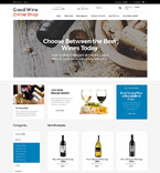 Food & Drink osCommerce  Template 53121