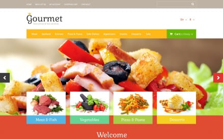 Food Shop OpenCart Template
