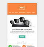 Security Newsletter  Template 53124