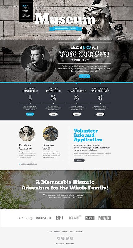 Drupal Template 53129 Main Page Screenshot