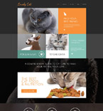 Animals & Pets Drupal  Template 53130
