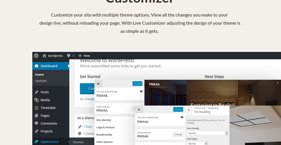 Tema de WordPress #53145 para Sitio de Interior y Muebles