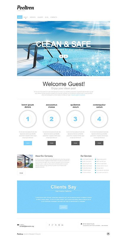 Drupal Template 53149 Main Page Screenshot
