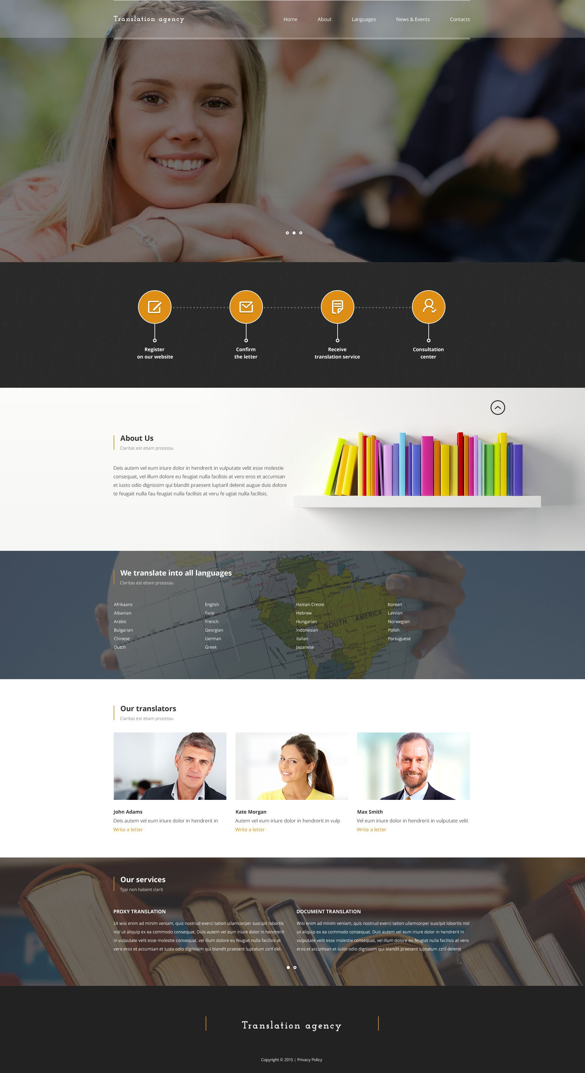 The Translate Company Bootstrap Design 53150, one of the best website templates of its kind (business, most popular), also known as translate company website template, professional website template, translation website template, services company website template, prices website template, team solutions website template, business website template, success website template, enterprise website template, technical website template, clients website template, customer support and related with translate company, professional, translation, services company, prices, team solutions, business, success, enterprise, technical, clients, customer support, etc.