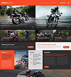 Sport Website  Template 53156