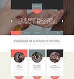 Beauty Website  Template 53157